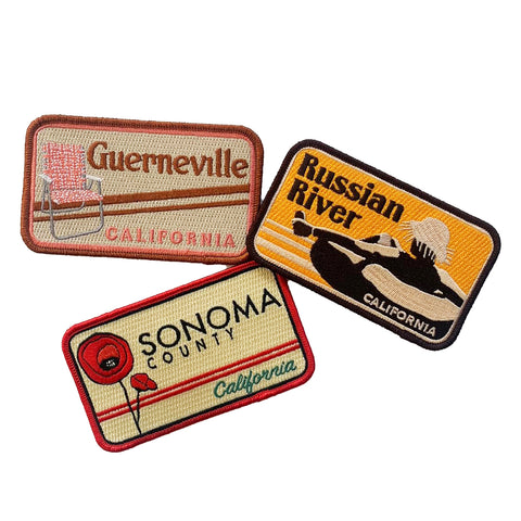 Sonoma County Patches
