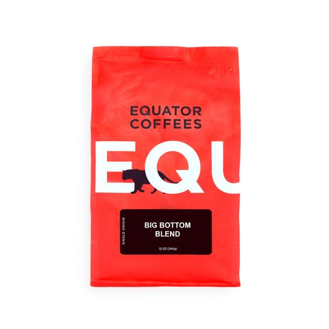 Roasted Coffee Beans Big Bottom Blend from Equator Coffees & Teas