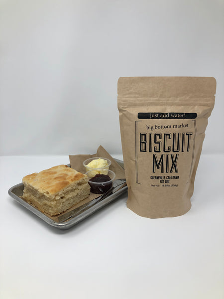 Biscuit Mix Just Add Water For Baking By Big Bottom Market