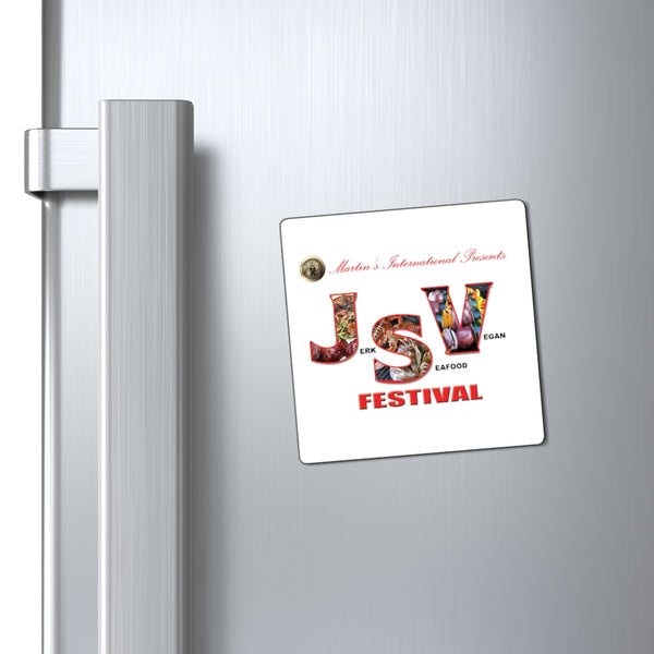 Jerk, Seafood & Vegan Festival (JSVFest) Magnets