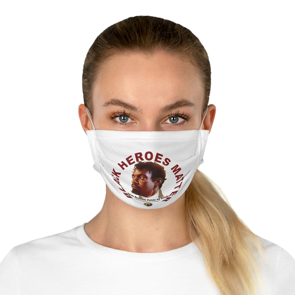 Black Heroes Matter Cotton Face Mask (EU)