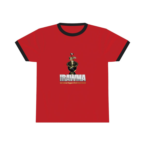 International Reggae & World Music Awards (IRAWMA) Unisex Ringer Tee Shirt
