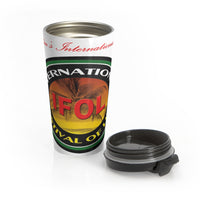 International Festival of Life (IFOL) Stainless Steel Travel Mug