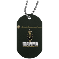 International Reggae & World Music Awards Silver Dog Tag