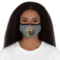 Martin's International Fitted Polyester Face Mask Steel