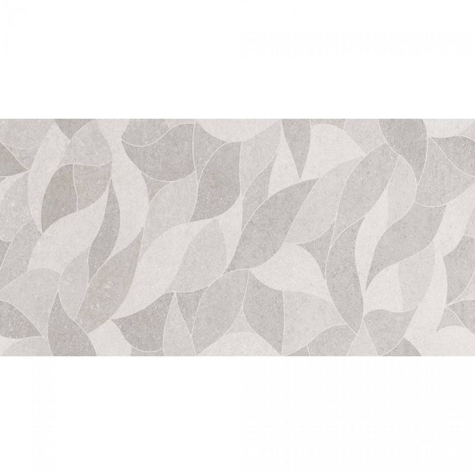 Autumn Grey Decor Gloss - Wall Tile - 30 x 60 cm