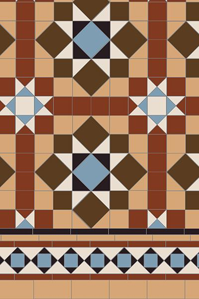 Original Style Chatsworth Pattern - Discount Tile And Stone Warehouse