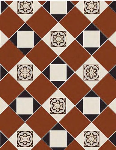 Original Style Fotheringhay Pattern - Discount Tile And Stone Warehouse