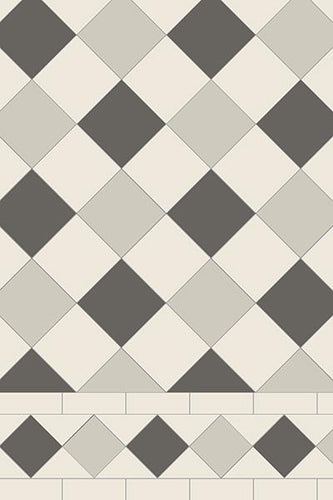 Original Style Oxford 3 Colour Pattern - Discount Tile And Stone Warehouse