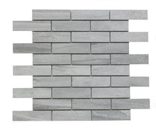 Load image into Gallery viewer, Tech Marble Grey Brick Mosaic - Wall Tile - 28.8 x 29.5 cm
