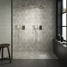 Load image into Gallery viewer, Starburst Grey - Wall & Floor Tile - 23.2 x 26.7cm