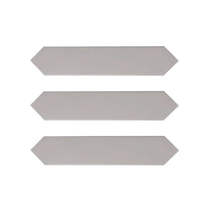 Arrow Quick Silver - Wall Tile - 5 x 25 cm