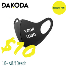 Load image into Gallery viewer, Custom Face Masks - Send design to contact@dakodadesigns.com following purchase