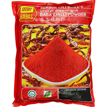 Babas Chilli Powder