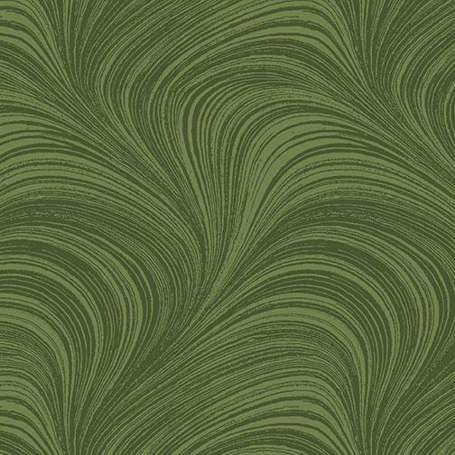 Wave Texture Med Green