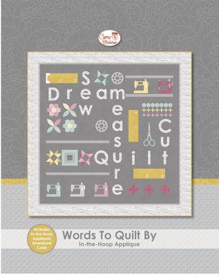 Words to Quilt By Gray Kit