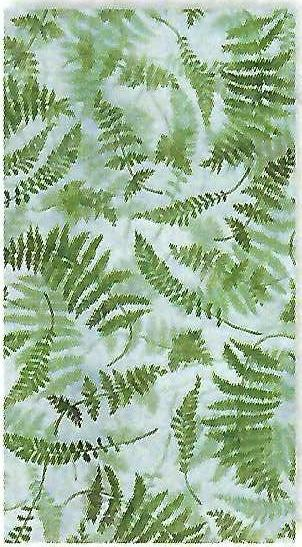 Fern Toss Blue Forest Study