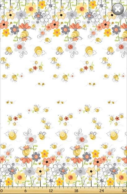Sweet Bees Border