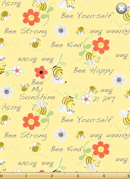 Sweet Bees Bee Kind Yellow