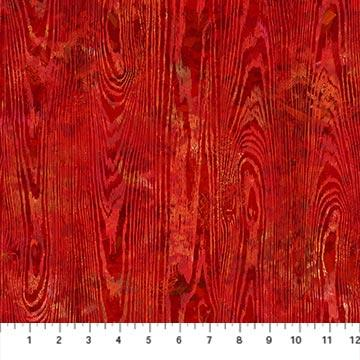 Wood Texture Red