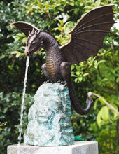 Load image into Gallery viewer, Bronze Dragon Color Fountain Decoration Art Work