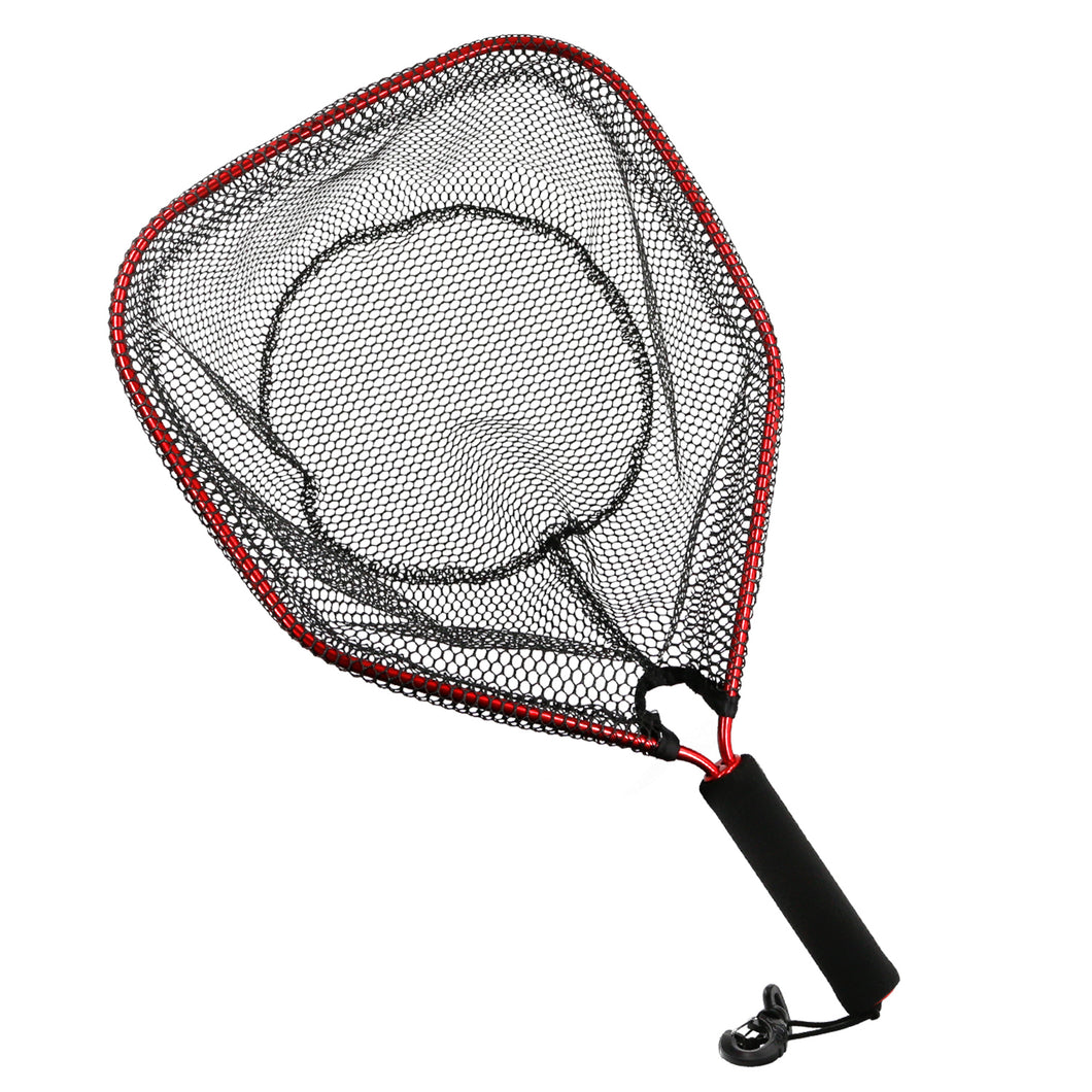 SANLIKE Foldable Fishing Net Carbon Fiber 9-Speed Small Ball Fishing Dip Net