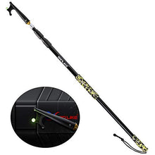 Load image into Gallery viewer, SAN LIKE Telescopic Boat Hook - Floating,Durable,Rust-Resistant with Luminous Bead Push Pole for Docking Blue Balck Camouflage