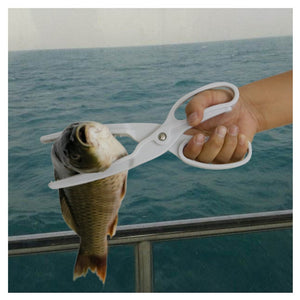 SANLIKE Plastic Fishing Grip Handle Lip Grip Fishing Gripper Grabber Fishing Tackle Tool For Saltwater