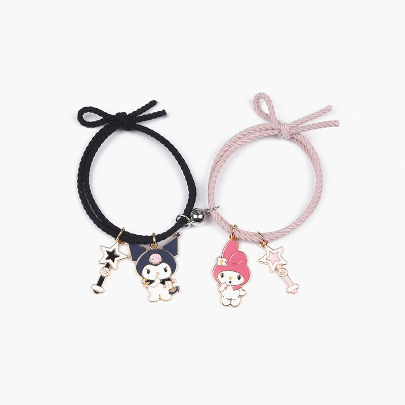 Cute Cartoon Attract Couples Bracelets | Great Love Gift