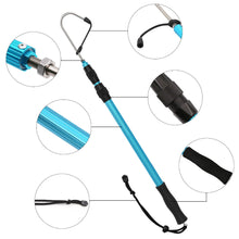 Load image into Gallery viewer, SANLIKE Stainless Fishing Gaff Steel Hook Nonslip EVA Handle Telescopic Pole