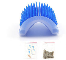 Load image into Gallery viewer, Pet cat rub hair device rub itch device corner massage brush scratch needle comb Mint toys
