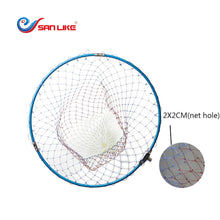 Load image into Gallery viewer, SANLIKE Fishing Net Trap Landing Net Aluminum Alloy Folding and Extending Frame 12mm Thread