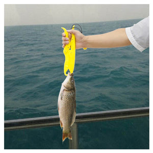 Sanlike Solid Plastic Fishing Lip Grip Gripper Holder Floating Grabber Plier Controller Portable Fishing Pliers Pesca Tools