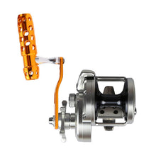 Load image into Gallery viewer, SANLIKE Baitcasting Fishing Reel Handle Aviation Aluminum Rocker Crank Hole 8*8mm for Shi Trolling Reel TIAGRA TORSA TYRNOS