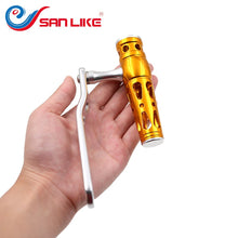 Load image into Gallery viewer, SANLIKE Aviation Aluminum Baitcasting Fishing Reel Handle Crank for 8*8mm Dai Fishing Reel Handle Knob Fishing Reel Accessories