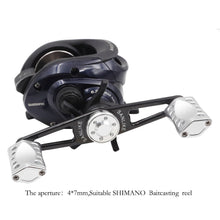 Load image into Gallery viewer, 2021 SANLIKE Fishing Knob Aviation Aluminum&Carbon Fiber Baitcasting Fishing Reel Handle  for S&D Fishing Reel
