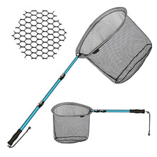 Load image into Gallery viewer, SANLIKE 2021  Fishing Net Fish Landing Net  Telescopic Pole Handle Durable Nylon Material Mesh Safe Fish Catching