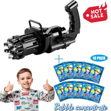 Load image into Gallery viewer, Gatling Bubble Machine 2021 Cool Toys & Gift