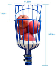 Load image into Gallery viewer, KOMCLUB Fruit Picker Basket Head for Apple Avocado Lemon Peach Fruit Tree Grabber Tool Outdoor Deep Basket Garden Tools