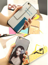 Load image into Gallery viewer, Oppo R17 Reno4 A11x A59 A83 skincare painted frosted cartoon phone case protective cover