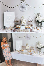 Load image into Gallery viewer, Custom Mum & Baby Names Modern Acrylic Baby Shower Signage