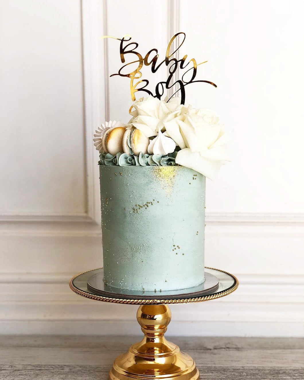 Baby Boy Baby Girl Baby Shower Cake Topper