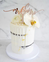 Load image into Gallery viewer, Mr & Mrs Mr & Mr Mrs & Mrs Handwriting Wedding Cake Topper