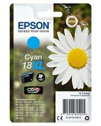 18 XL 18XL T1812 Cartuccia Ciano Originale Epson Margherita
