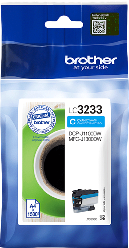 Brother LC-3233C Cartuccia inkjet originale - ciano