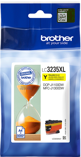 Brother LC-3235XLY Cartuccia originale inkjet XL - Giallo Stampante DCP MFC