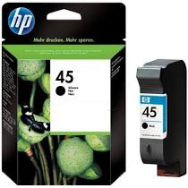 HP 45 51645ae Nero Cartuccia Originale