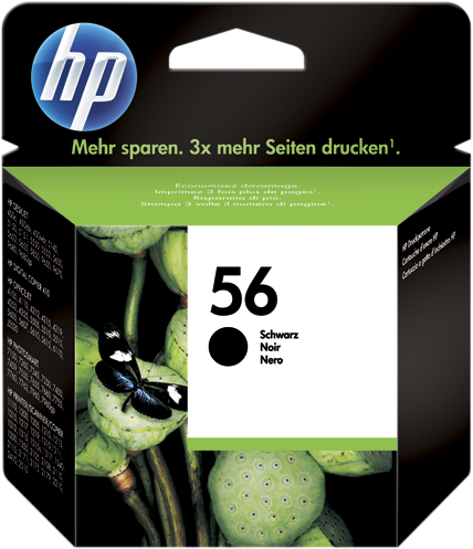 HP 56 C6656A Nero Cartuccia Originale