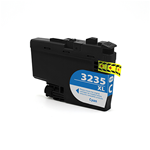 Brother LC-3235XLC Cartuccia compatibile inkjet XL - ciano