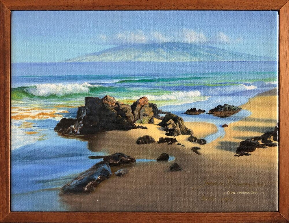 Beach Velvet 1 Piece Frame, Various Sizes